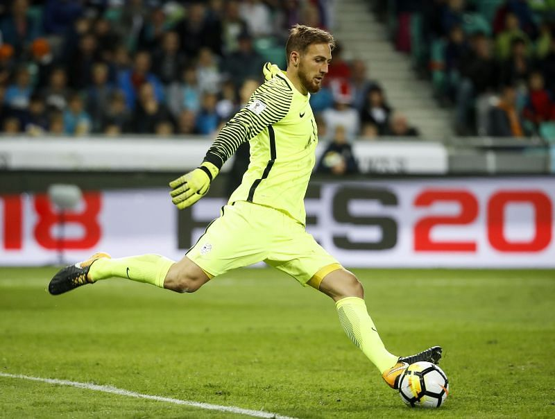 Oblak has begun to feature regularly for the Slovenians only recently