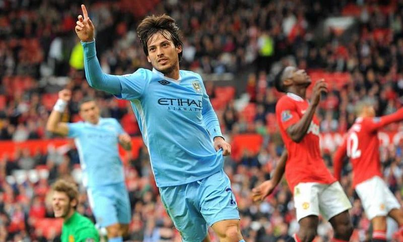 The Spaniard scored 74 goals and provided 137 assists during his time at the Etihad Stadium