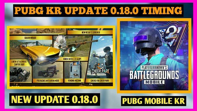 Pubg Mobile Korea 0 18 0 Update Tap Tap Apk Download Link