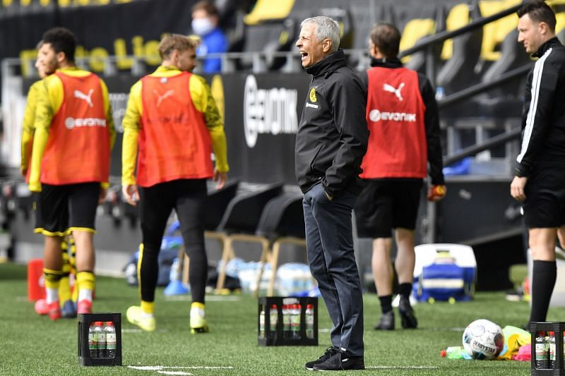 Borussia Dortmund manager Lucien Favre will have some big decisions to make on Tuesday