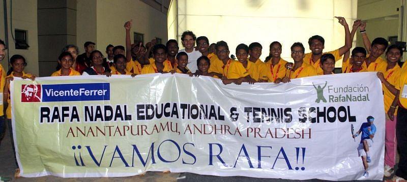 The Rafa Nadal Foundation