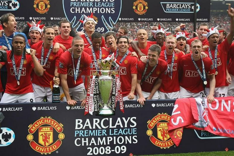 Manchester United saw off their bitter rivals Liverpool to draw level with them on 18 league titles