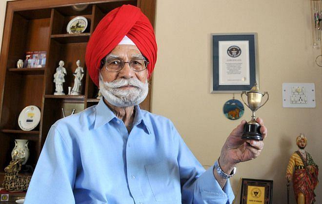Balbir Singh Sr [PC: Tribune]