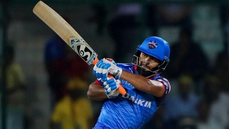 Rishabh Pant smashed nine sixes during an epic run chase in IPL 2017