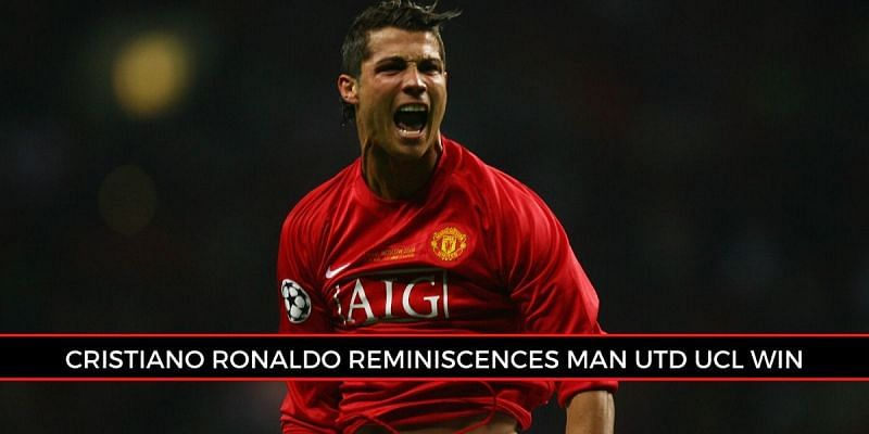 Cristiano Ronaldo won his first UCL title with Manchester United in 2008
