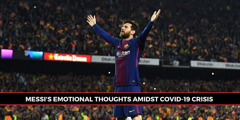 Lionel Messi has spoken about the effect of COVID-19 on world football