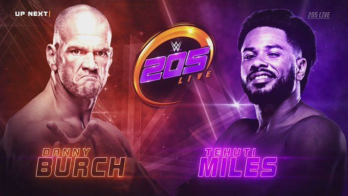 Tehuti Miles looked for his first win on 205 Live