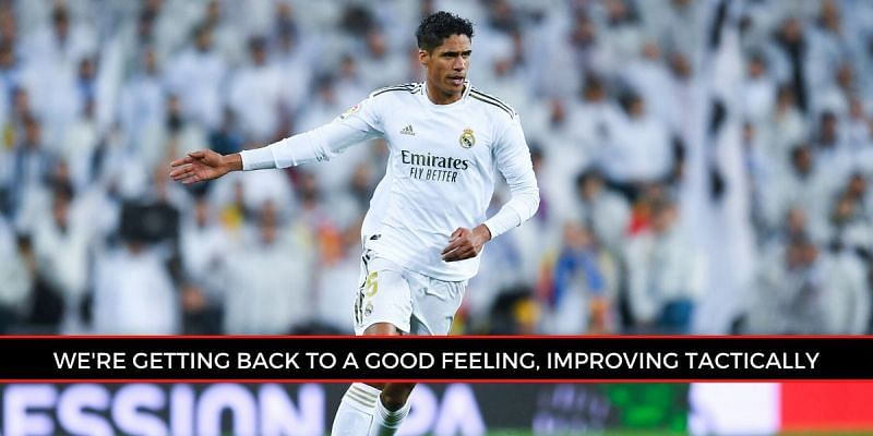Varane issued an update for supporters, ahead of next month