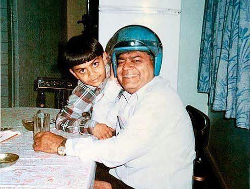 विराट कोहली और उनके पिता