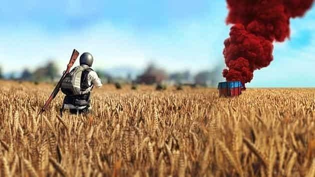 Airdrops in PUBG