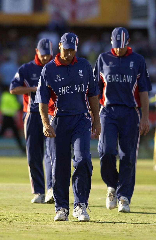 इंग्लैंड की टीम 2003 वर्ल्ड कप के दौरान