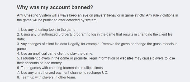 FAQ Section from Tencent Games support
