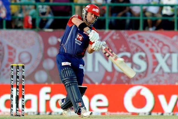 David Warner scored his first career T20 century while playing for DC.