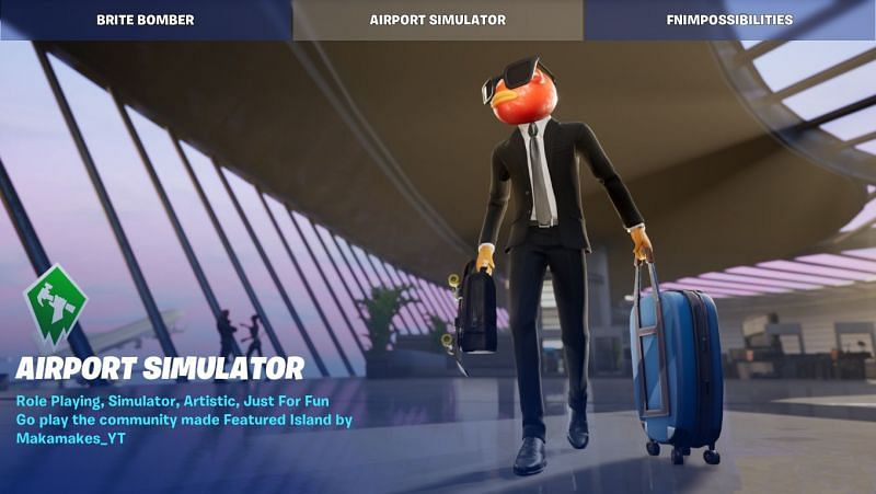 Airport Simulator in Fortnite