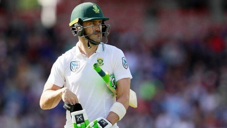 Faf du Plessis lasted over 7 hours at the crease while scoring his first Test century