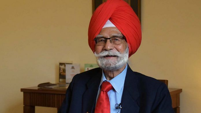 Balbir Singh Sr played three editions of the Olympics for the Indian hockey team