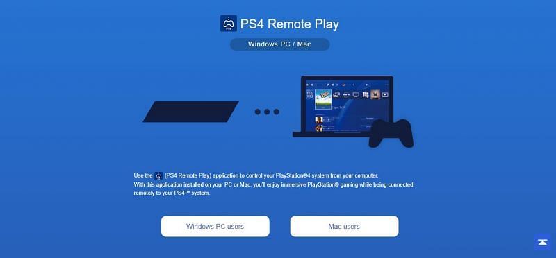 Connect your Laptop to PS4