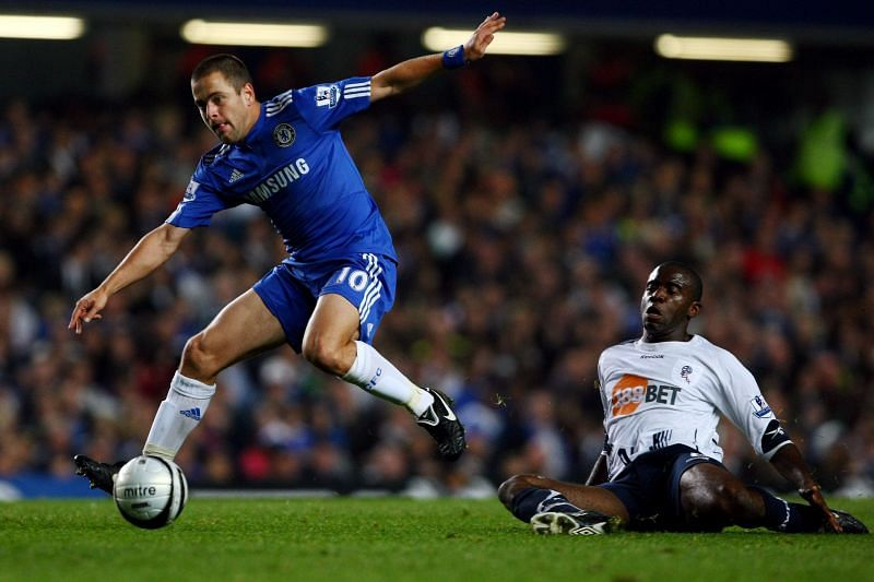 Joe Cole survived the longest at Chelsea