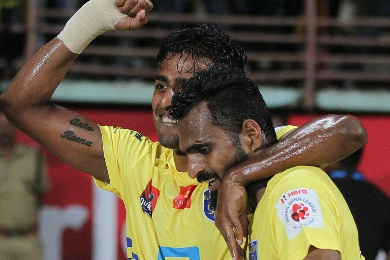 Rino Anto and CK Vineeth have been together in Bengaluru FC and Kerala Blasters.