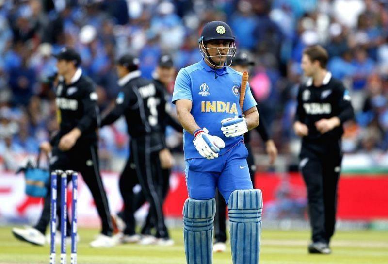 भारतीय टीम की 2019 वर्ल्ड कप सेमीफाइनल की हार
