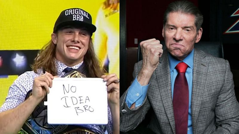 Matt Riddle recently met with Vince McMahon