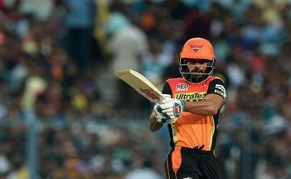 Shikhar Dhawan is the highest run-scorer among Indian batsmen for SRH.