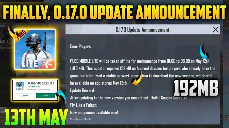 PUBG Mobile Lite 0.17.0 Update Features (Credits: REBLOTECH)