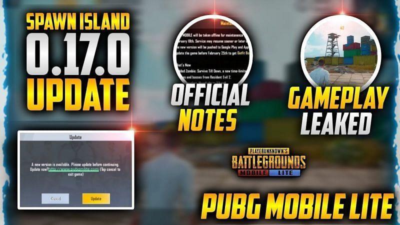 PUBG Mobile Lite 0.17.0 update