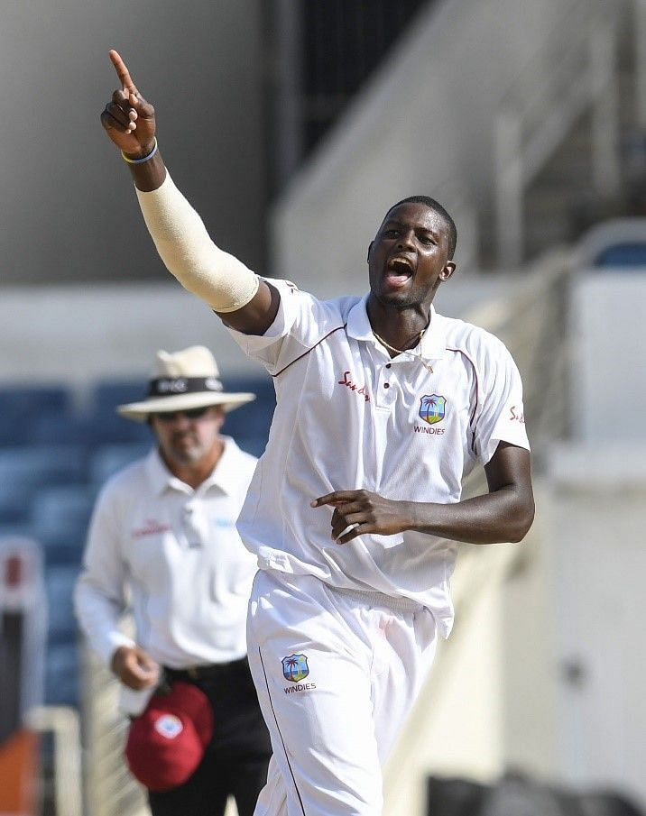Jason Holder - the number one-ranked all-rounder in the world.