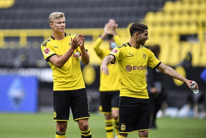 Haaland has been in excellent form since arriving at Borussia Dortmund in January