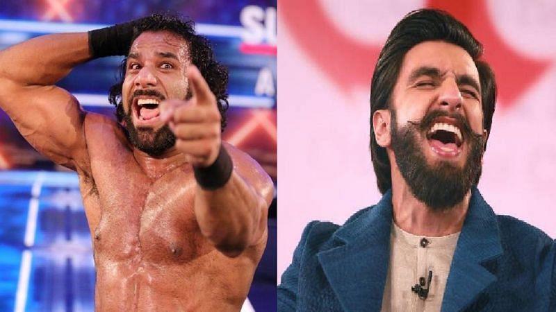 Jinder Mahal and Ranveer Singh