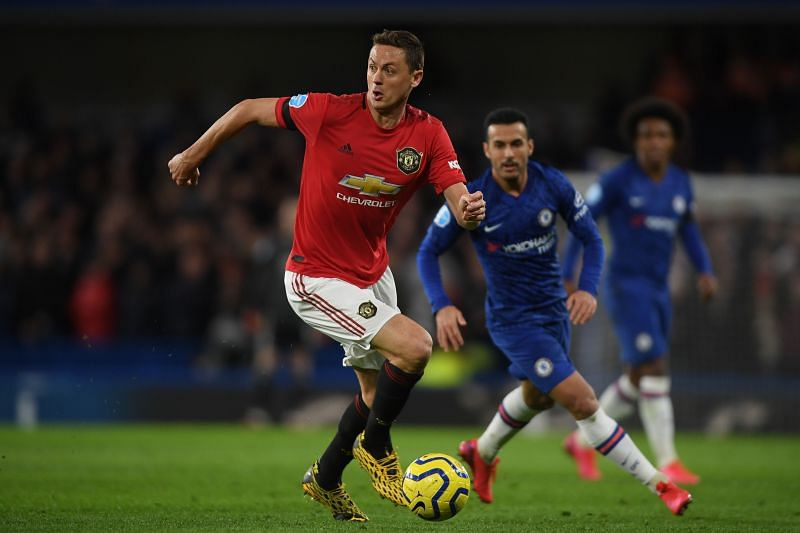 Matic vs. former side Chelsea, as part of a Manchester United side who were improving before the shutdown