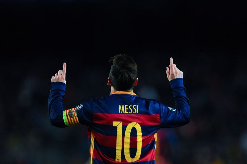 Lionel Messi and Barcelona won the UEFA Champions League in 2015