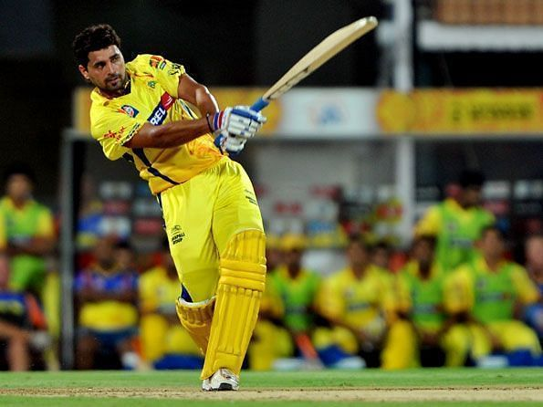 Murali Vijay slammed a record 11 sixes against RR in IPL 2010.