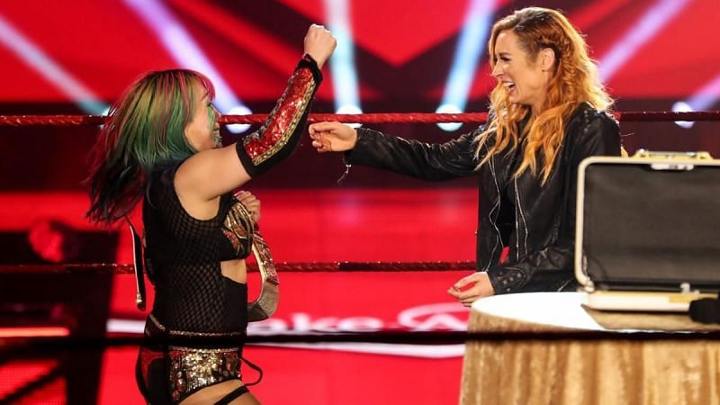 Asuka reveals her joy at the news of Becky Lynch