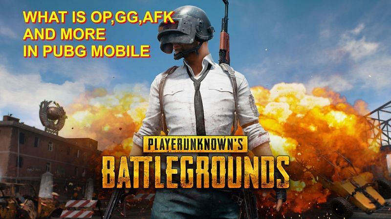 Some of the common abbreviations in PUBG Mobile