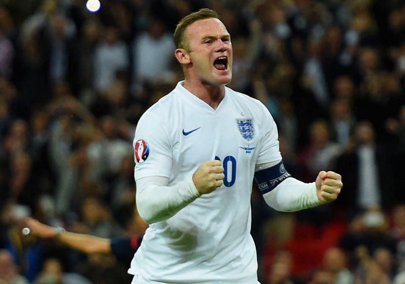 Wayne Rooney broke England
