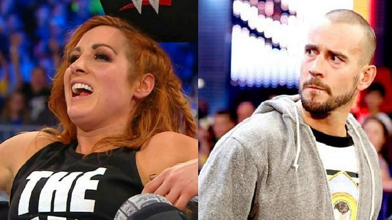 Becky Lynch and CM Punk