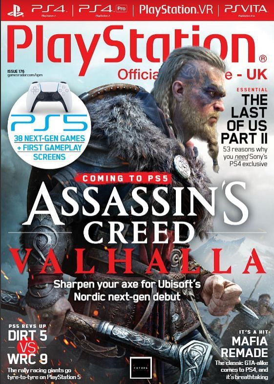 PlayStation Official Magazine 176th Issue Cover Sample
