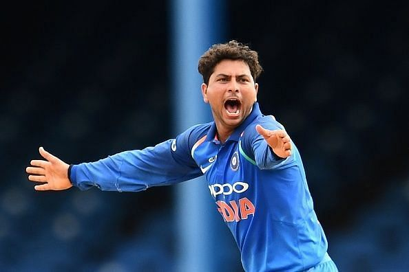 Kuldeep Yadav is the only Indian spinner to take a hat-trick in ODI cricket