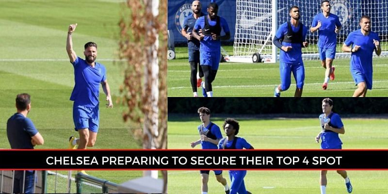 Chelsea players return to small group sessions as Project Restart continues (Picture: Sportskeeda)
