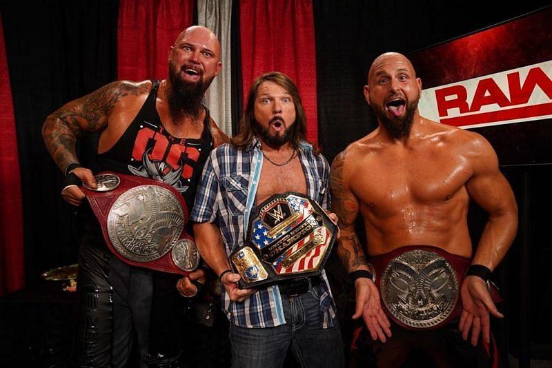 WWE के रॉ की बड़ी फैक्शन OC