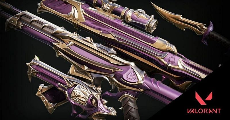 Valorant has an exciting range of weapon skins to pick from (pic courtesy: EarlyGame)