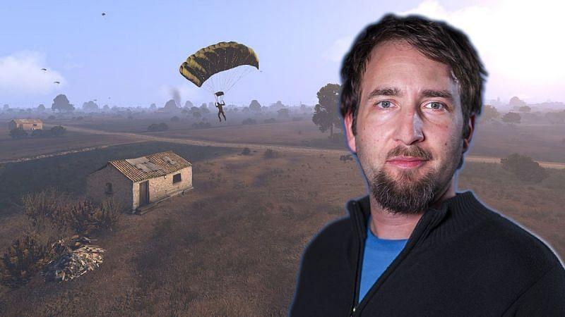 Brendan Greene, the creator of PUBG