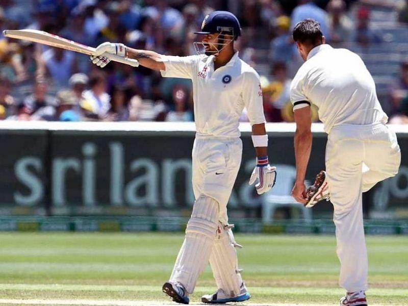 Virat Kohli and Mitchell Johnson: Players who don