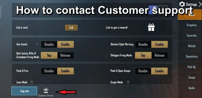 How to contact customer support.