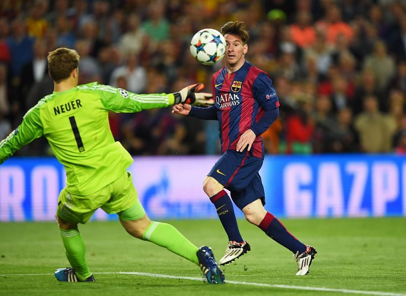 Lionel Messi scored one of the best goals in Champions League history on this day in 2015