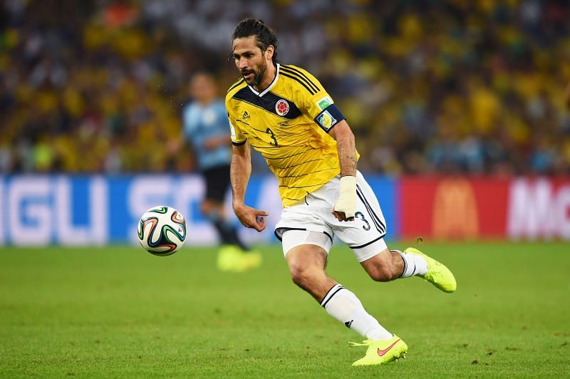 Yepes captained Colombia to their best ever World Cup, aged 38