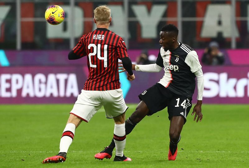 Simon Kjaer was rock solid at the back against a star-studded Juventus attack