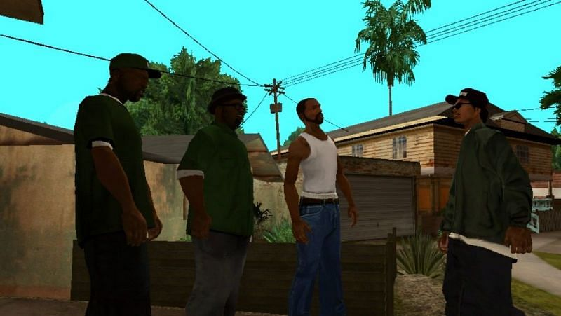 CJ, the family man (Image: GTA Wiki - Fandom)